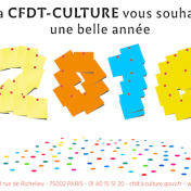 CFDT-CULTURE Voeux 2016