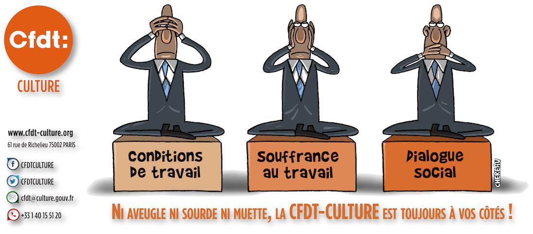 CFDT-CULTURE : syndicat du Ministère de la Culture