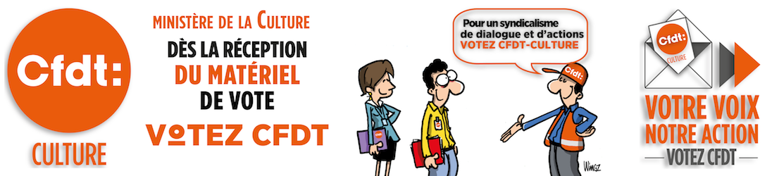 CFDT-CULTURE : syndicat du Ministère de la Culture